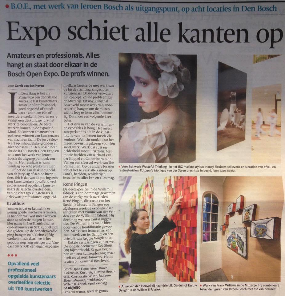 Bosch Open Expo in bd maart 2016